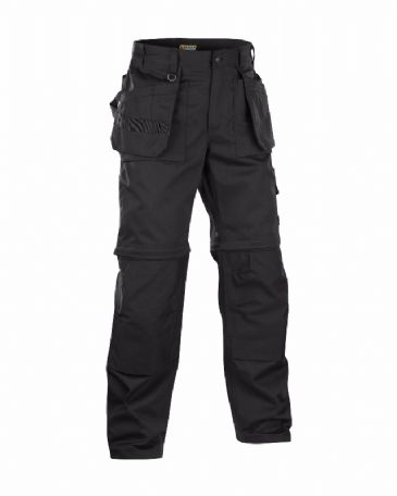 Blaklader 1538 Zip-off Trousers (Black)